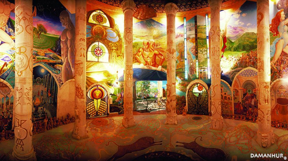 Tempel der Menschheit - Ein einzigartiges Kunstwerk der universellen Spiritualität