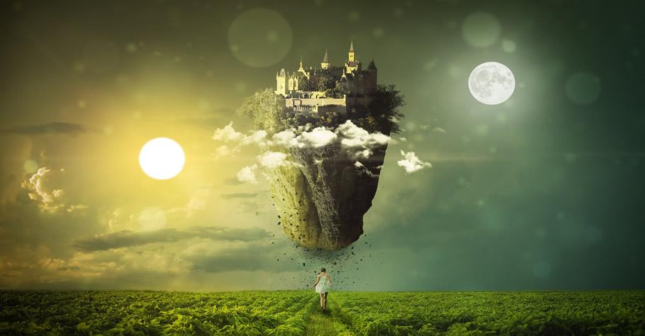 Traumwelten und Sinnes-Ausdehnung