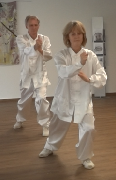 Tai Chi 24 Form trainieren